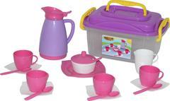 """Набор детской посуды """"Алиса"""" на 4 персоны (в контейнере)"""