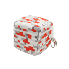 "Плюшевая игрушка ""Куб Redstone Ore"" (Красная руда), 10 см"