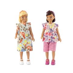 Набор кукол для домика две девочки