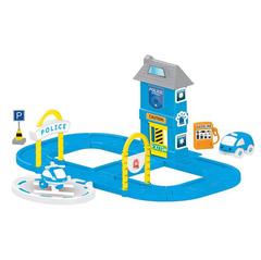 Игровой набор полицейская станция с круговой дорогой
