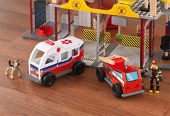 Набор Пожарно-Спасательная станция Kidkraft Делюкс