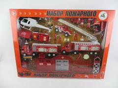 Набор игровой Пожарные