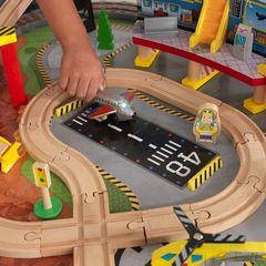 """Игровой набор """"Транспортный Хаб"""" (Transportation Station), 58 элементов, стол"""