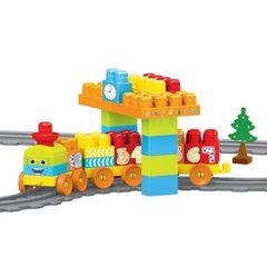 Моя первая железная дорога с конструктором, 58 эл., 224 см