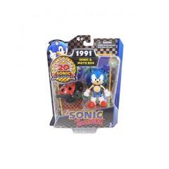 """Игрушка-фигурка """"Sonic with Moto Bug"""" (Соник и багги), 8 см"""