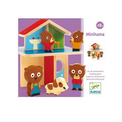 Деревянная игрушка Мини-дом