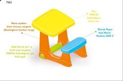 Парта со скамейкой