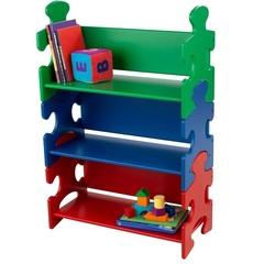 """Система хранения """"Пазл"""", яркий (Puzzle Book Shelf - Primary)"""