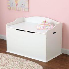 """Ящик для игрушек """"Austin Toy Box""""(Остин), цв. Белый"""