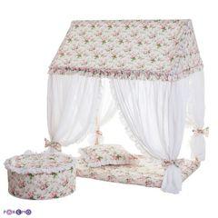 """Текстильный домик-палатка с пуфиком """"Дворец Шахерезады"""""""