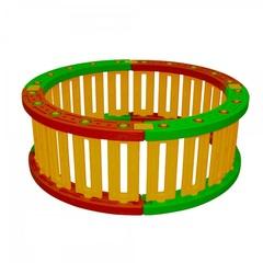 Пластиковый круглый манеж для шаров, высота 51 см