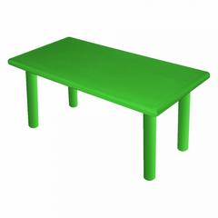 """Большой стол """"Королевский"""", пластиковый, цвет Зеленый"""
