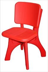 """Детский пластиковый стул """"Дейзи"""", красный"""