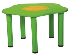 """Детский столик """"Сэнди"""", с системой хранения мелочей, цвет Зеленый"""