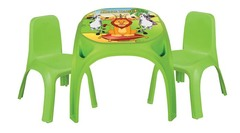 Стол с двумя стульями для детей King