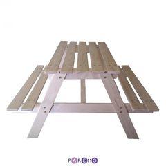 Детский стол-пикник из дерева