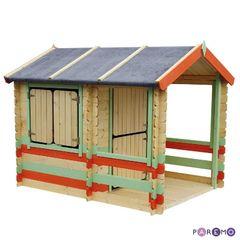 """Игровой домик для детей """"Оливия"""", в цвете"""