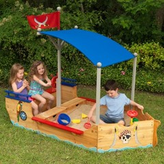 """Песочница """"Пиратская лодка"""" (Pirate Sandboat)"""