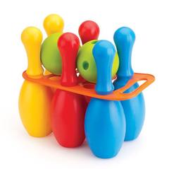 Большой набор боулинг из 6 кеглей и 2 шаров
