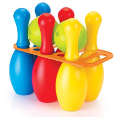 Мега набор боулинг из 6 кеглей и 2 шаров