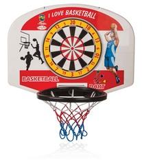 Баскетбольное кольцо с мячом + дартс