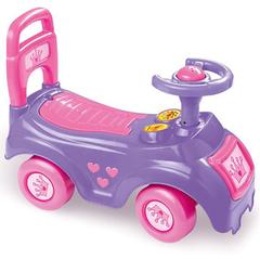 Автомобиль-каталка розовый