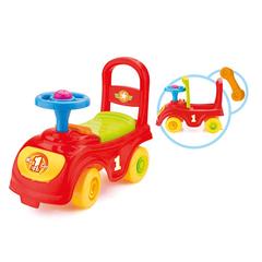 Мой первый автомобиль-каталка красный