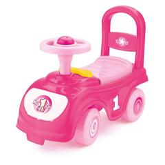 Мой первый автомобиль-каталка розовый