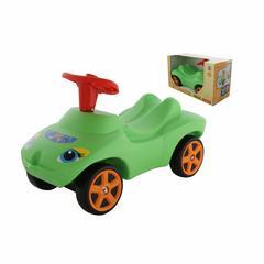 """Каталка """"Мой любимый автомобиль"""" зелёная со звуковым сигналом (в коробке)"""