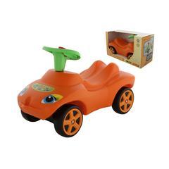 """Каталка """"Мой любимый автомобиль"""" оранжевая со звуковым сигналом (в коробке)"""