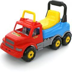 Каталка-автомобиль Буран №2 красно-голубая