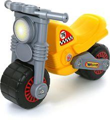 Мотоцикл Моторбайк(желто-серый)