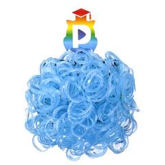Комплект дополнительных резиночек №8 (цвет прозрачный голубой, 300 шт.)