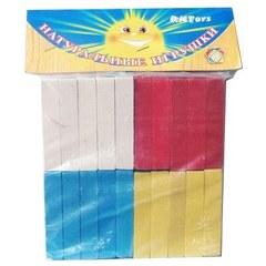 Развивающая игрушка «Счетные палочки», 40 штук, 4 цвета
