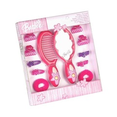 Игровой набор с зеркалом Barbie (Барби), 12 предметов