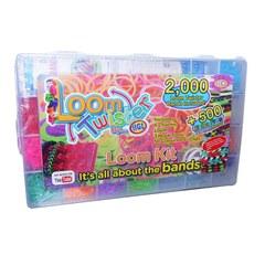 """Набор для плетения браслетов из резинок """"Loom Twister"""": станок, 2000 резинок"""