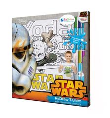 """Футболка  для раскрашивания """"Star Wars"""", 5 лет"""