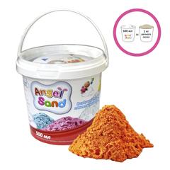 """Песок для творчества """"Angel Sand"""", 500 мл, цвет оранжевый"""