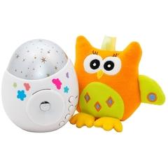 """Ночник-проектор  звездного неба """"Колибри"""" с игрушкой"""