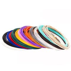 "Набор пластика для 3D ручек ""Unid. PLA-15"", 10м, 15 цветов"