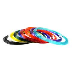 "Набор пластика для 3D ручек ""Unid PRO"", 10 м, 9 цветов"