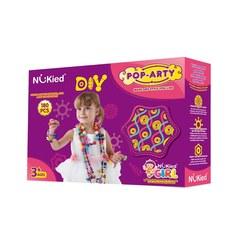 """Набор для творчества, детский бисер """"Pop Arty"""" в коробке, 180 деталей"""