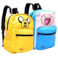 """Рюкзак """"Adventure Time. Finn & Jake"""" (Эдвенчер тайм. Финн и Джейк) двусторонний"""
