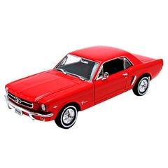 """Коллекционная модель машины """"Ford Mustang 1964"""" 1:24"""