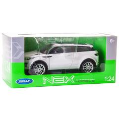 """Коллекционная модель машины """"Range Rover Evoque"""" 1:24"""