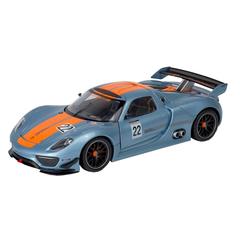 """Коллекционная модель машины """"Porsche 918 RSR"""" 1:24"""