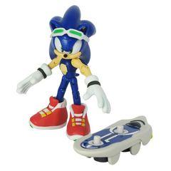"""Игрушка-фигурка """"Sonic Free Riders Sonic"""" (Соник Фри Райдерс. Соник), 9 см"""