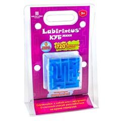 Лабиринтус Куб, 6см, синий