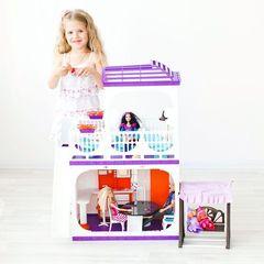 """Дом для кукол Barbie (Барби) """"Конфетти"""", С-1334 с мебелью"""