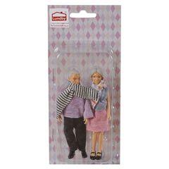 Куклы для домика бабушка с дедушкой